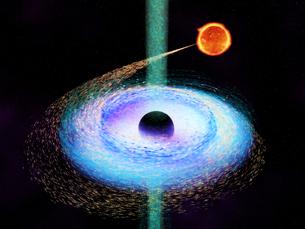 ブラックホールの写真素材 [FYI00124309]