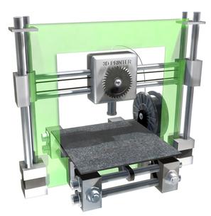 3Dプリンターの写真素材 [FYI00124384]