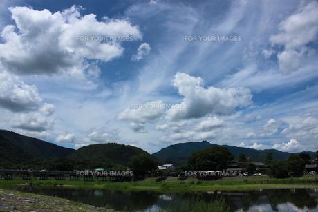 雲雲雲の写真素材 [FYI00124511]
