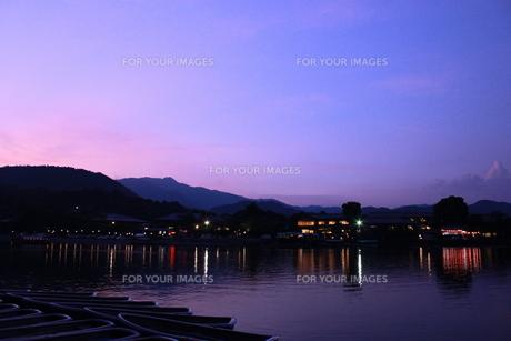 嵐山の絶景の写真素材 [FYI00124519]