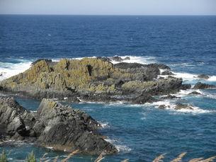 澄海岬の海辺の写真素材 [FYI00124635]