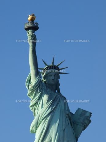 自由の女神の写真素材 [FYI00124672]
