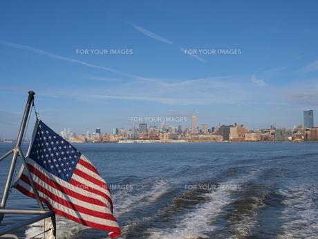 合衆国と星条旗の写真素材 [FYI00124678]