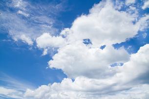 青空の雲の写真素材 [FYI00124716]