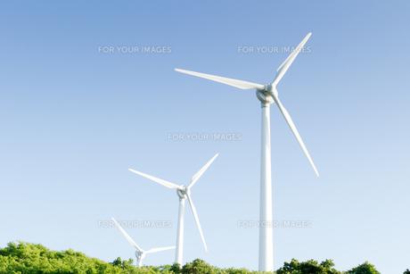 風力発電所の写真素材 [FYI00124865]