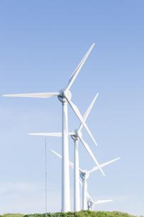 風力発電所の素材 [FYI00124873]