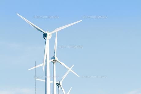 風力発電所の写真素材 [FYI00124892]
