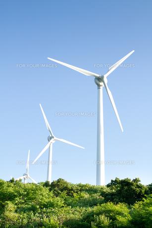 風力発電所の写真素材 [FYI00124893]