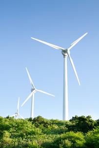 風力発電所の素材 [FYI00124893]