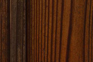 きれいな木目の杉板壁の写真素材 [FYI00124937]