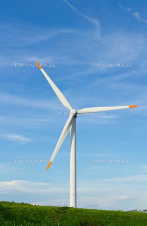 風力発電の素材 [FYI00125122]