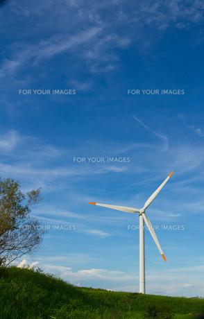 風力発電で青空の素材 [FYI00125128]