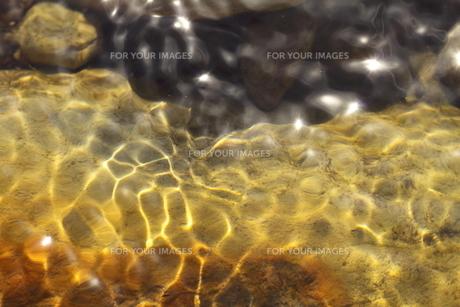 里山の渓流の写真素材 [FYI00125202]
