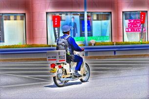 警察官HDRの写真素材 [FYI00125517]