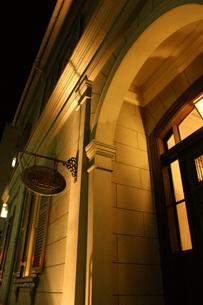 夜の神戸旧居留地の写真素材 [FYI00125736]
