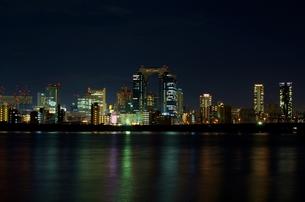 梅田の夜景の写真素材 [FYI00125818]