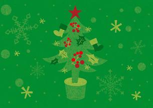 クリスマスツリーの写真素材 [FYI00125982]
