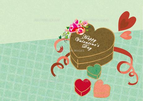 バレンタインのチョコレート2の素材 [FYI00126004]