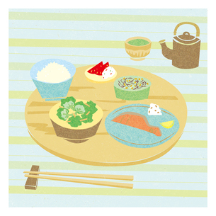 魚定食の写真素材 [FYI00126012]