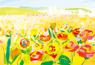花畑の素材 [FYI00126087]