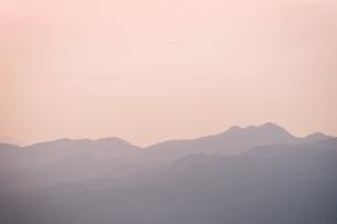山の稜線の写真素材 [FYI00126145]