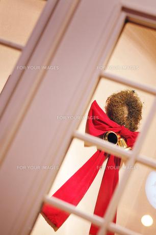 クリスマスリースの写真素材 [FYI00126166]