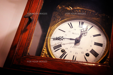 古い時計の写真素材 [FYI00126175]