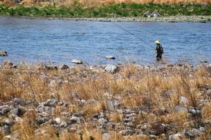 釣り人の写真素材 [FYI00126223]