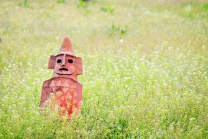 草原の埴輪の素材 [FYI00126332]