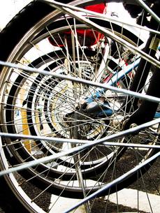 自転車の車輪の写真素材 [FYI00126349]