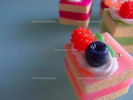 フルーツケーキの写真素材 [FYI00126424]