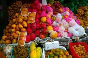 タイの果物屋の写真素材 [FYI00126503]
