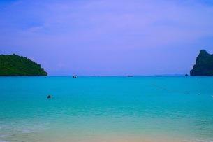 ピピ島の海の写真素材 [FYI00126508]