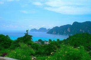 ピピ島の風景の写真素材 [FYI00126512]
