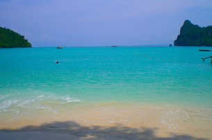 ピピ島の海の写真素材 [FYI00126523]