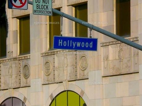 ハリウッドの看板の写真素材 [FYI00126563]