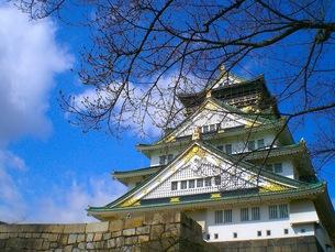 大阪城の写真素材 [FYI00126566]