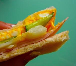 サンドイッチの写真素材 [FYI00126693]