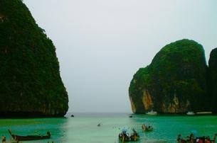 ピピ島の風景の写真素材 [FYI00126697]