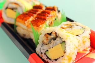 ウナギの寿司の写真素材 [FYI00126984]