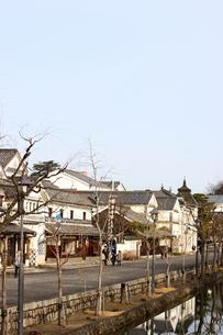 倉敷の美観地区の街並み 5の写真素材 [FYI00127208]