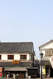 倉敷の美観地区の街並み 6の写真素材 [FYI00127225]