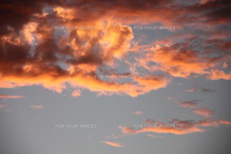 夕焼け雲 3の素材 [FYI00127322]
