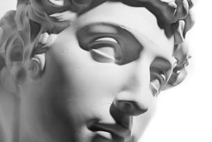 ジュリアーノ・デ・メディチ 石膏像の写真素材 [FYI00127987]