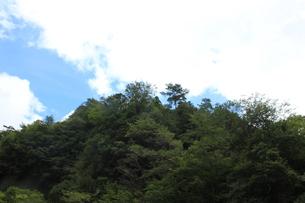 空と山の写真素材 [FYI00128023]