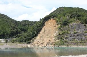土砂崩れの写真素材 [FYI00128027]
