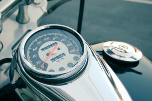 バイクのスピードメーターの写真素材 [FYI00128146]