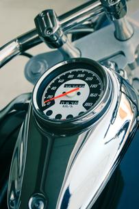 バイクのスピードメーターの写真素材 [FYI00128158]