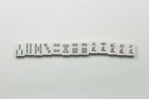 麻雀牌の写真素材 [FYI00128159]