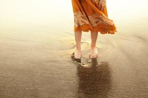 夏の日の浜辺の素材 [FYI00128388]